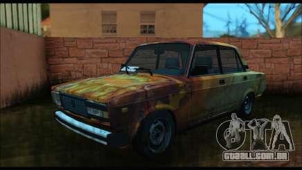 VAZ 2107 Enferrujado para GTA San Andreas
