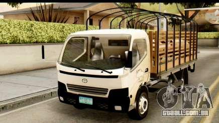 Toyota Dyna Truck Hog Dealer para GTA San Andreas