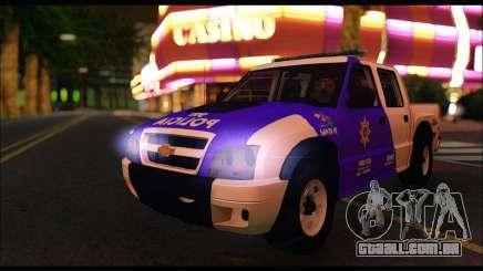 Chevrolet S-10 Policia de Santa Fe para GTA San Andreas