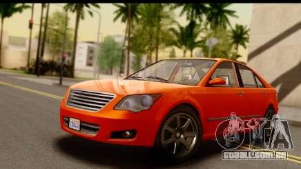 GTA 5 Karin Asterope IVF para GTA San Andreas