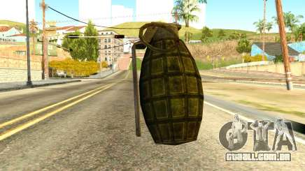 Grenade from Global Ops: Commando Libya para GTA San Andreas