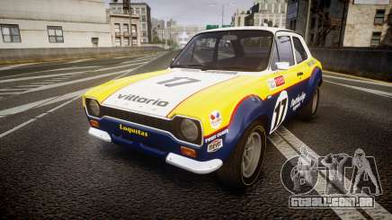Ford Escort RS1600 PJ17 para GTA 4