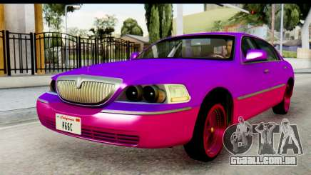 Lincoln Town Car 2010 para GTA San Andreas