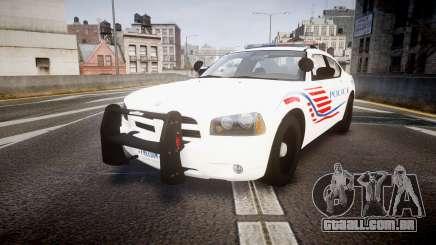 Dodge Charger Polícia Metropolitana [ELS] седан para GTA 4