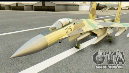 SU-35 Flanker-E ACAH para GTA San Andreas