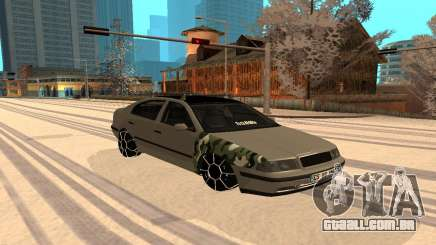Skoda Octavia Winter Mode para GTA San Andreas