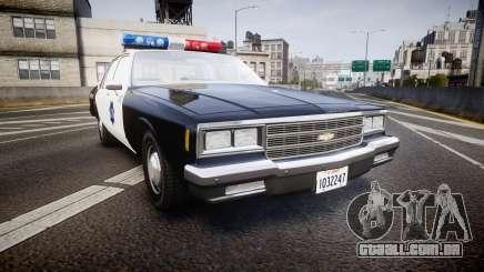Chevrolet Impala 1985 LCPD [ELS] para GTA 4