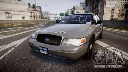Ford Crown Victoria Sheriff K-9 Unit [ELS] para GTA 4