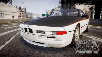 BMW E31 850CSi 1995 [EPM] Carbon para GTA 4