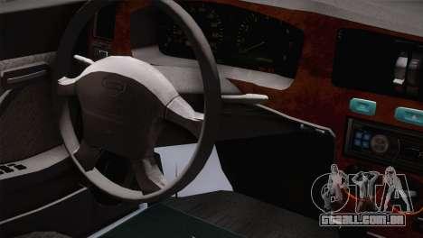 Nissan Cedric para GTA San Andreas vista direita