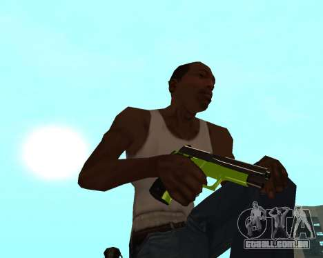 Sharks Weapon Pack para GTA San Andreas