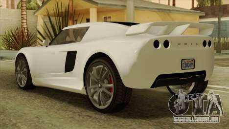 GTA 5 Coil Voltic v2 IVF para GTA San Andreas esquerda vista