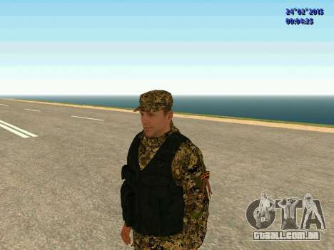 Setas milícia DND para GTA San Andreas terceira tela