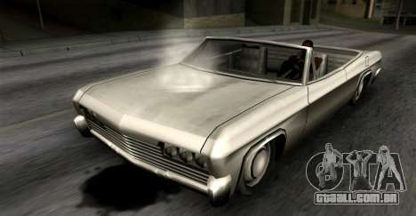 O vazamento de óleo para GTA San Andreas