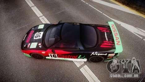 Honda NSX 1998 [EPM] castrol para GTA 4 vista direita