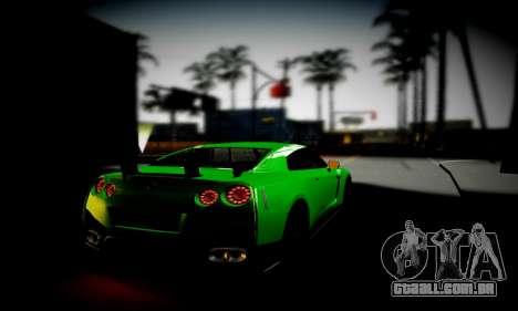 Blacks Med ENB para GTA San Andreas quinto tela