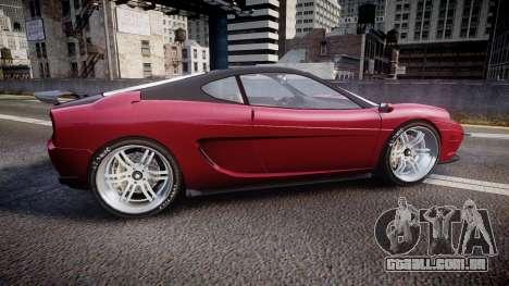 Grotti Turismo GT Carbon v3.0 para GTA 4 esquerda vista