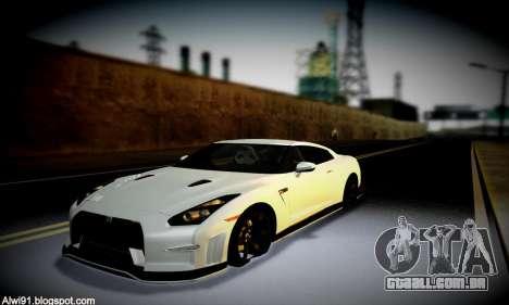 Blacks Med ENB para GTA San Andreas nono tela