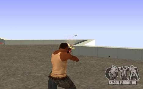 M4A4 Вой CS:GO para GTA San Andreas por diante tela