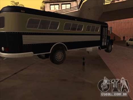 Ônibus из GTA 3 para GTA San Andreas traseira esquerda vista