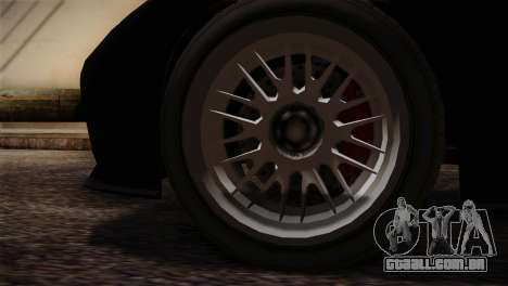 GTA 5 Invetero Coquette v2 IVF para GTA San Andreas traseira esquerda vista
