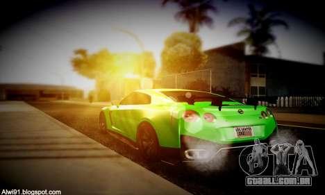 Blacks Med ENB para GTA San Andreas sexta tela