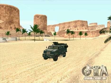 Blindados Urso para GTA San Andreas