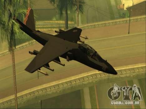 McDonnell Douglas AV-8B Harrier II Beta para GTA San Andreas