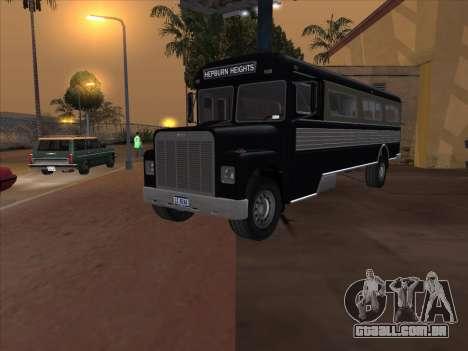 Ônibus из GTA 3 para GTA San Andreas vista direita