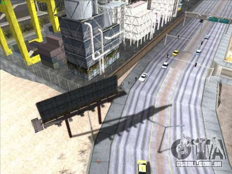 High Definition Graphics para GTA San Andreas por diante tela