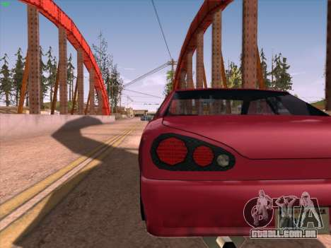 High Definition Graphics para GTA San Andreas terceira tela
