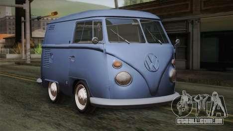 Volkswagen T1 Short para GTA San Andreas