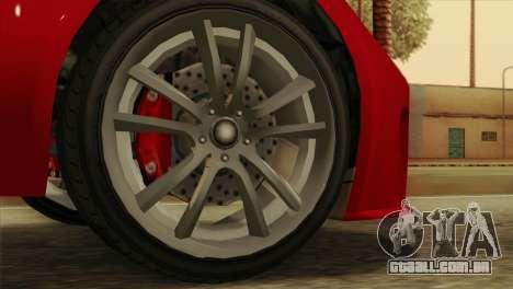 GTA 5 Coil Voltic v2 para GTA San Andreas traseira esquerda vista