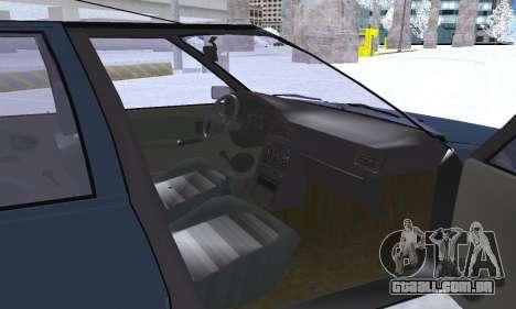 Dacia Super Nova para as rodas de GTA San Andreas