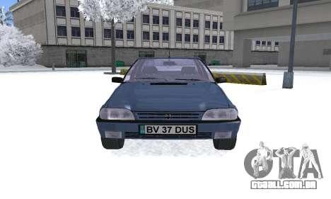 Dacia Super Nova para GTA San Andreas vista direita
