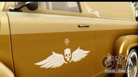 EFLC TLaD Vapid Slamvan para GTA San Andreas vista direita