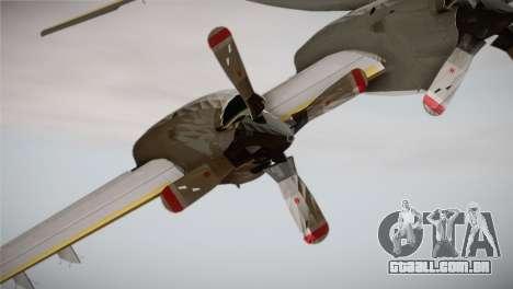 German Navy P-3C Orion MFG 3 50th Anniversary para GTA San Andreas vista direita