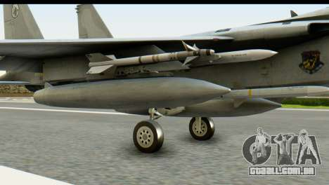 F-15J Mitsubishi Heavy Industries para GTA San Andreas vista direita