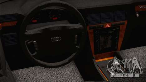 Audi A8 2000 para GTA San Andreas vista direita