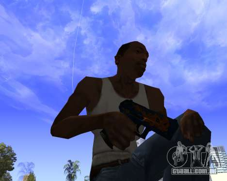 Skins Weapon pack CS:GO para GTA San Andreas sétima tela