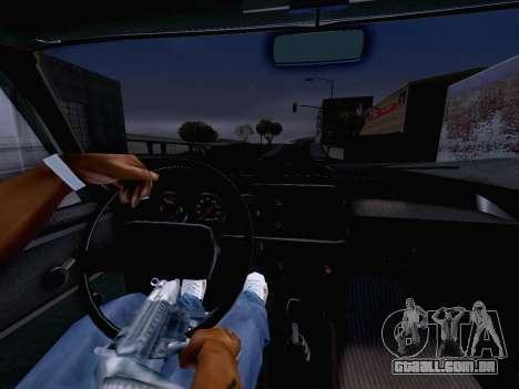 AZLK 2140 para GTA San Andreas vista direita