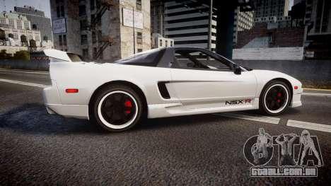 Honda NSX 1998 [EPM] nsx-r para GTA 4 esquerda vista