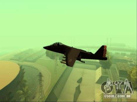 McDonnell Douglas AV-8B Harrier II Beta para GTA San Andreas vista direita