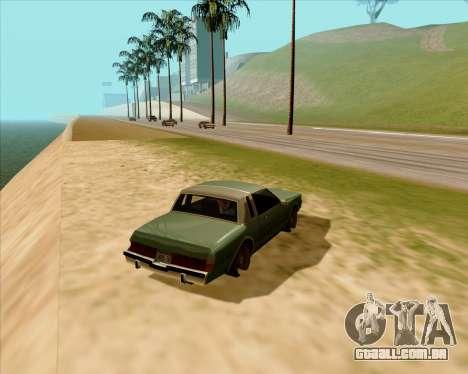 Real ENB Series para GTA San Andreas segunda tela