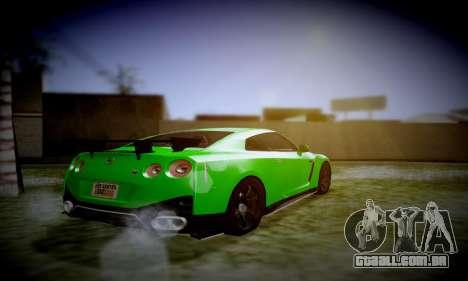 Blacks Med ENB para GTA San Andreas por diante tela