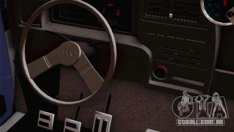 Fiat 147 Tuning para GTA San Andreas vista direita