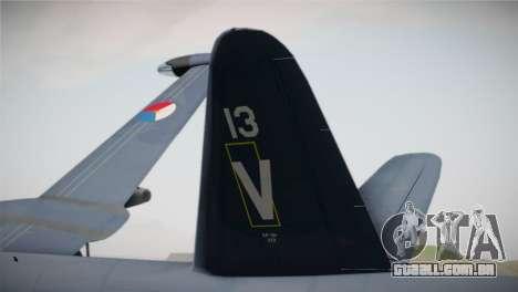 Lockheed P2V-7 Neptune MLD para GTA San Andreas traseira esquerda vista