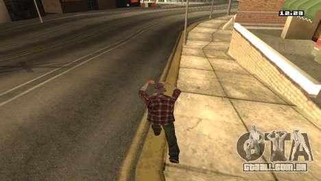 Misto de estilos de luta para GTA San Andreas terceira tela