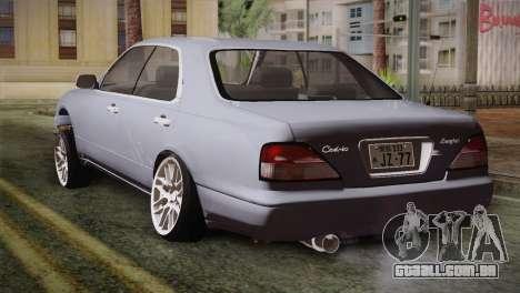 Nissan Cedric para GTA San Andreas esquerda vista