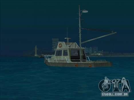 Reefer из GTA 3 para GTA San Andreas traseira esquerda vista
